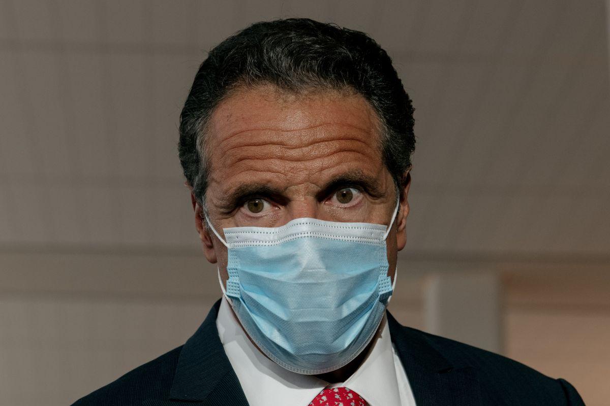 Andrew Cuomo, gobernador demócrata de Nueva York.