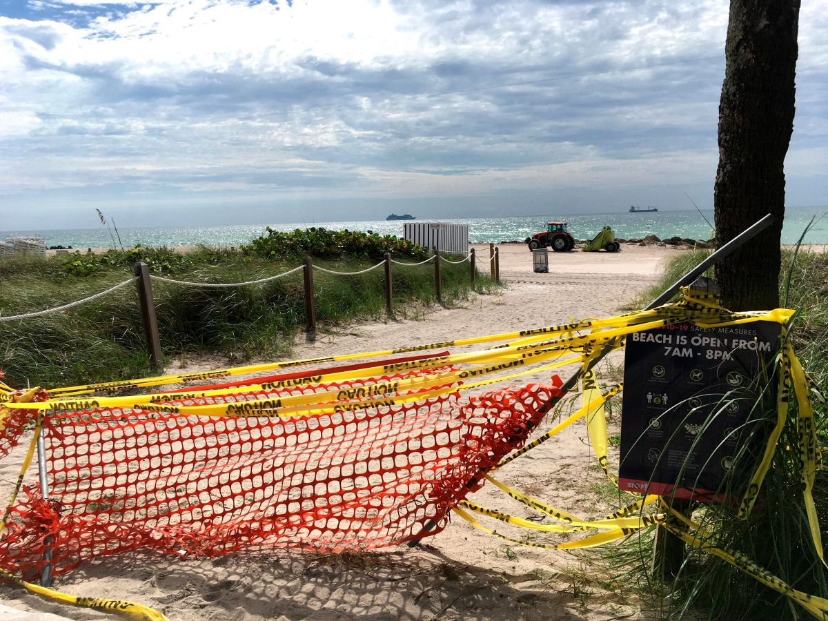 Miami reabrirá sus playas este miércoles. Conoce las medidas que debes seguir