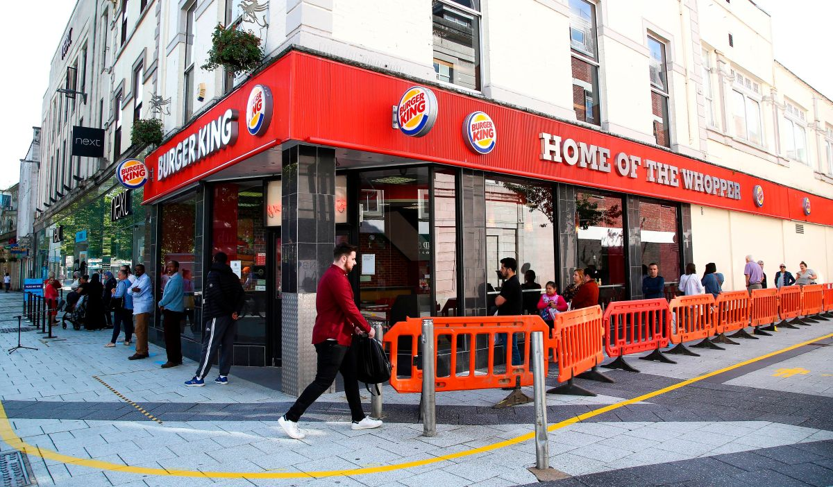 Burger King, uno de los gigantes de la comida rápida.