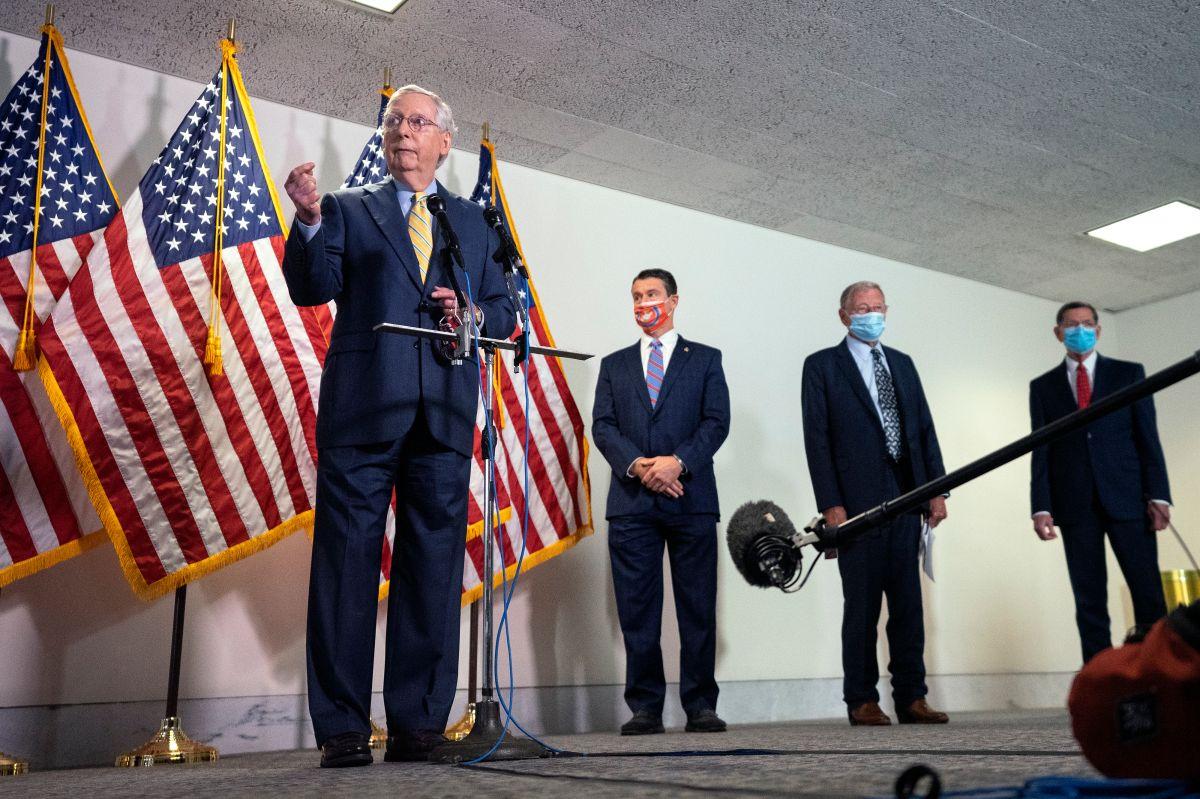 La diferencias entre líderes republicanos y Trump podrían retrasar paquete de ayuda económica
