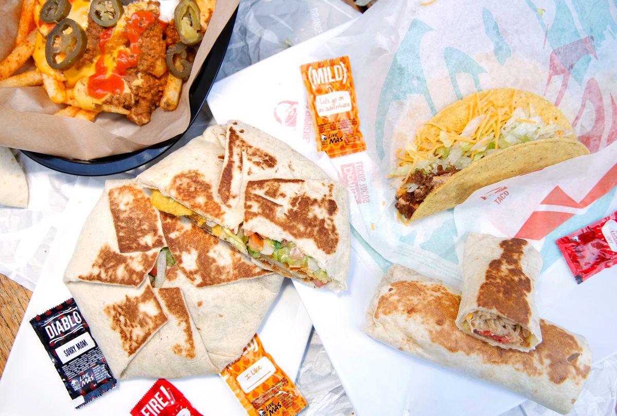 El menú de Taco Bell cambiará para hacerlo más sencillo.