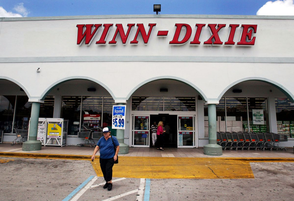 Winn Dixie tiene cientos de sucursales en el sur de Estados Unidos.