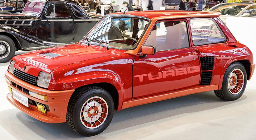 Renault Turbo R5 1982, la inspiración de mi primer auto. Foto: Renault.