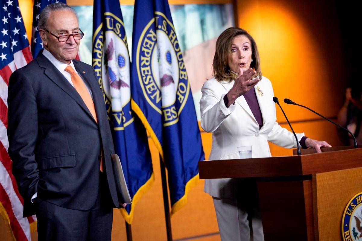 Los demócratas mantienen firme su exigencia de $600 dólares de ayuda adicional por desempleo