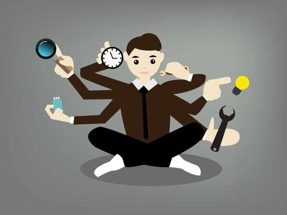 Cómo ser un multitareas eficaz y productivo, más cuando trabajas desde casa