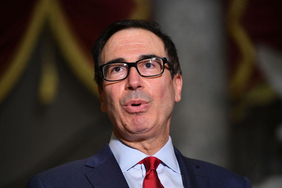 Secretario del Tesoro anuncia reinicio de negociaciones por paquete de ayuda económica y cheque estímulo