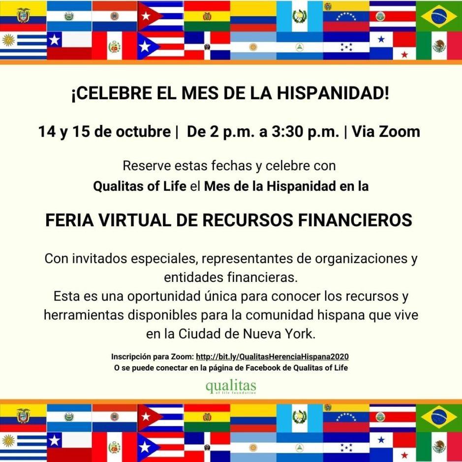 Qualitas of Life Foundation realiza primera Feria Virtual de Recursos Financieros