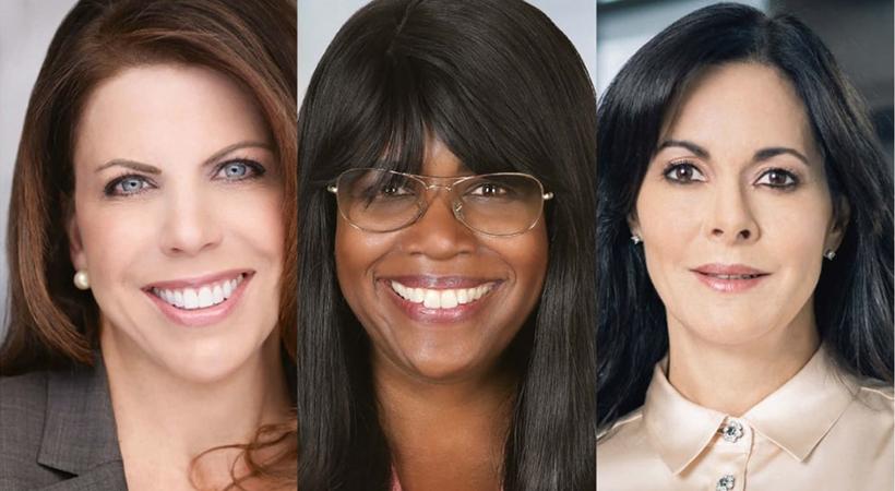 Las tres mujeres ejecutivas de Hyundai. / Foto: Cortesía Hyundai