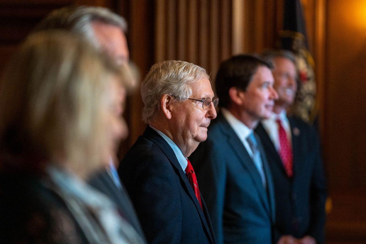 Los republicanos del Senado se sienten respaldados por los datos macroeconómicos.