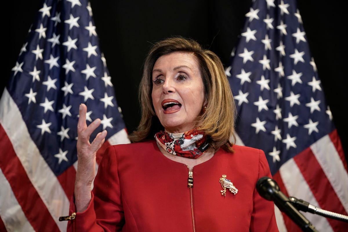 Nancy Pelosi, la dura negociadora de los demócratas.