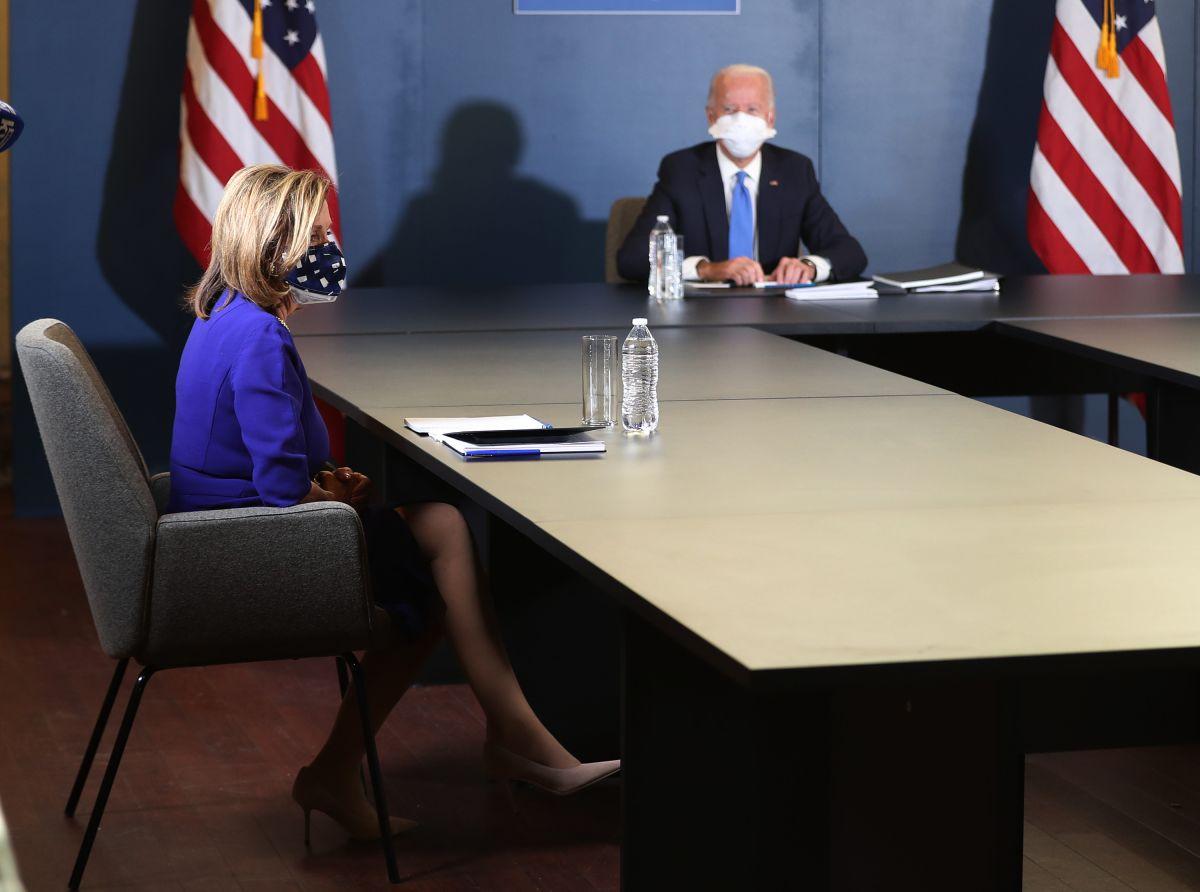 Ante la presión de Biden, los demócratas aceptarían un paquete de estímulo menor