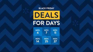 Los descuentos que podrás encontrar en la primera semana de ofertas por el Black Friday en Walmart