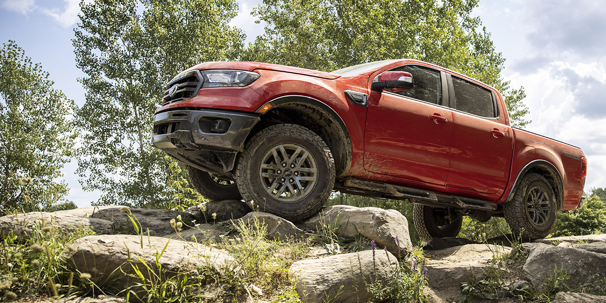 La nueva Ford Ranger Tremor 2021.