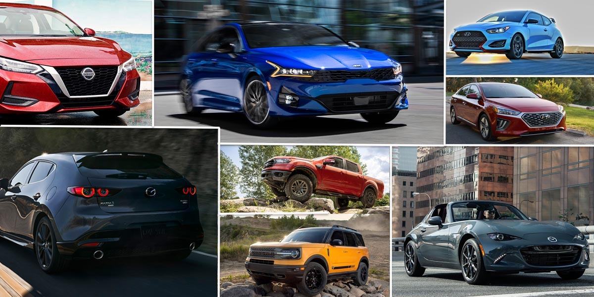 Los mejores autos nuevos 2021 por menos de $30,000