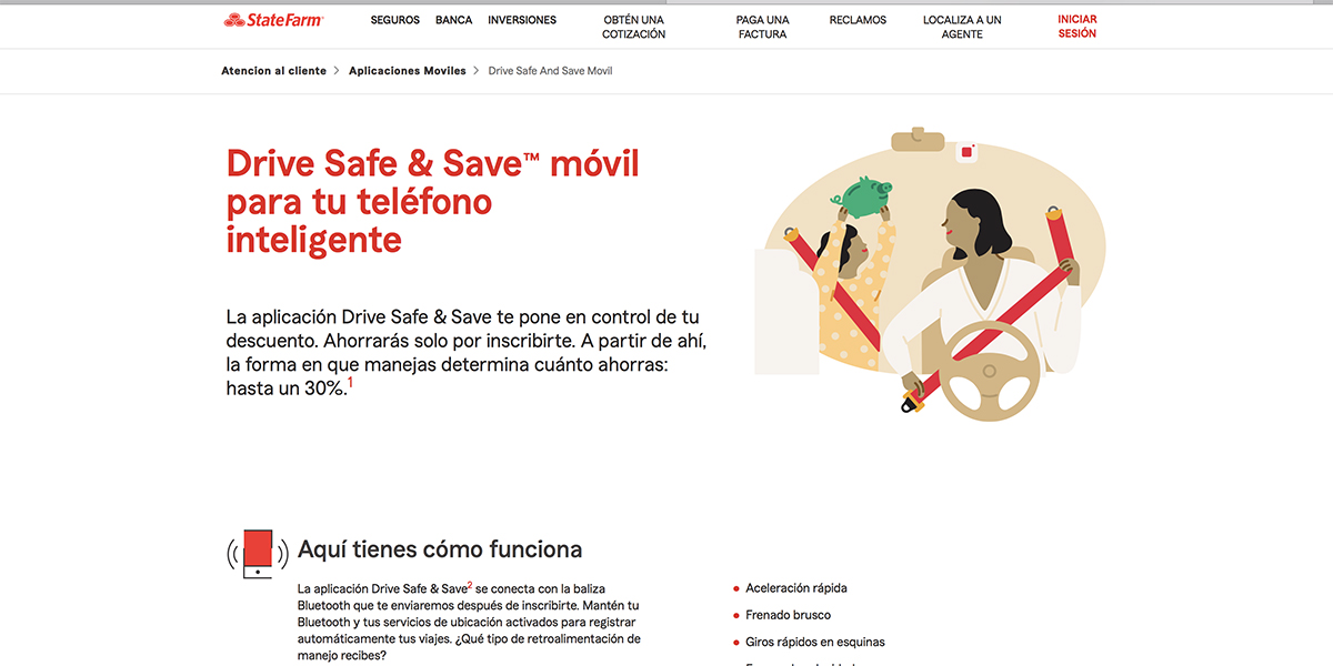 Drive Safe & Save de State Farm