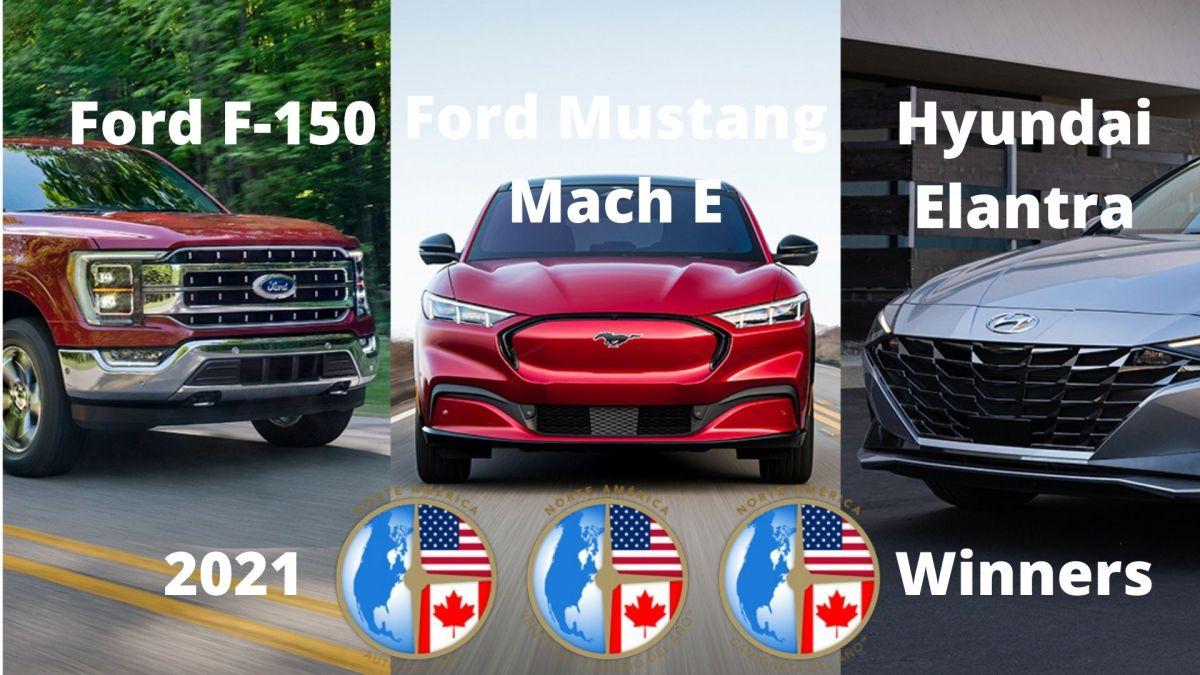 Los mejores autos 2021: Hyundai Elantra, Ford F150 y Ford Mustang Mach E