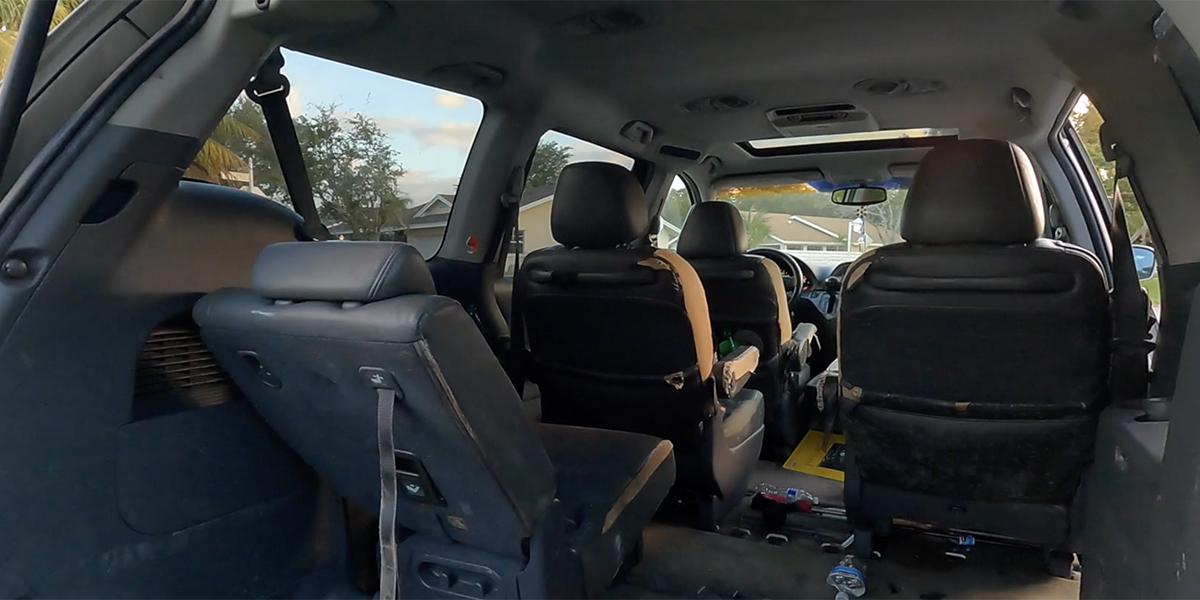 Interior Honda Odyssey 2007