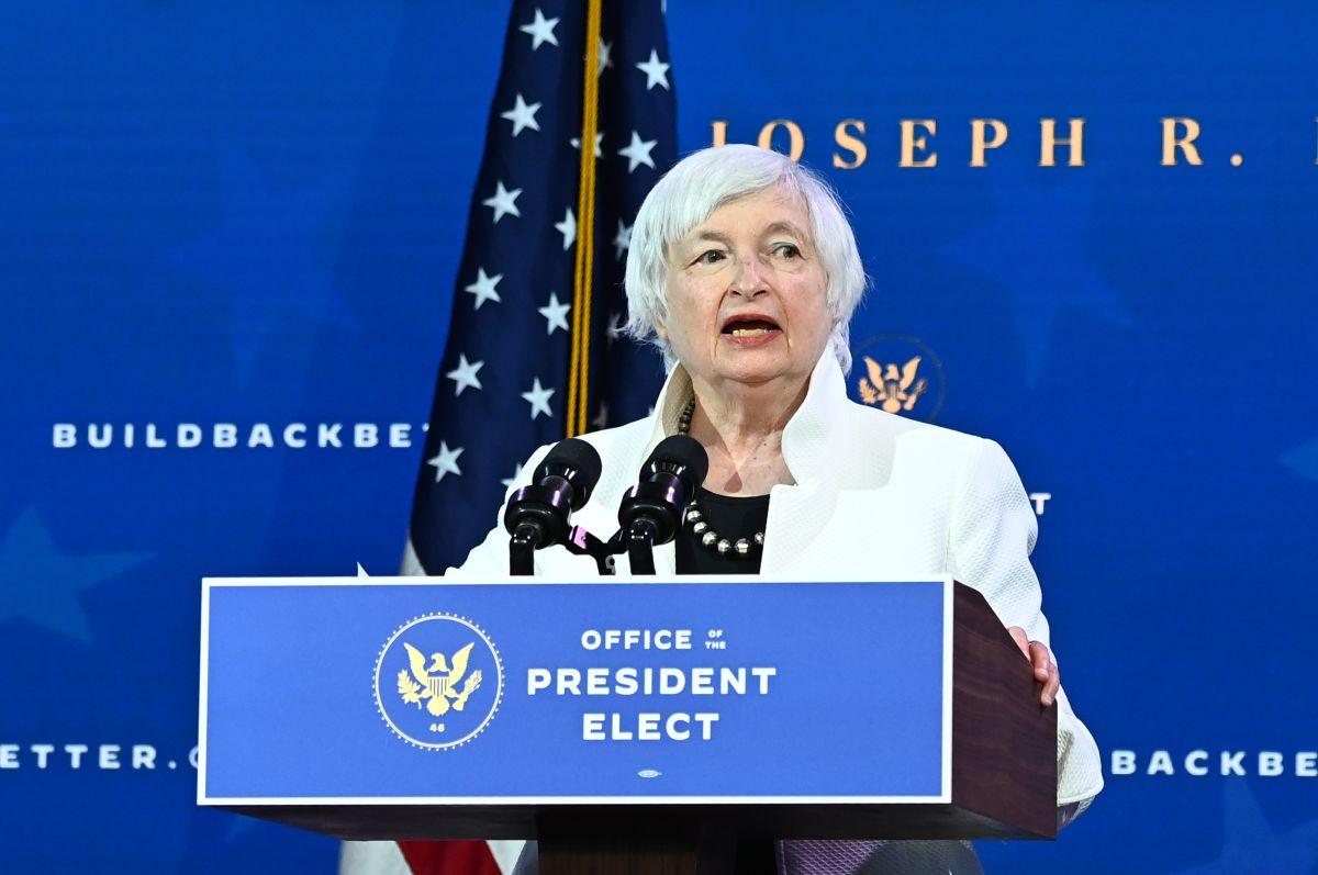 Por qué es importante la intervención de la próxima secretaria del Tesoro para que el Congreso apruebe el plan de Biden, cheque de estímulo incluido