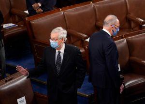 """Republicanos """"desbloquearán"""" el Senado para sacar adelante las propuestas económicas de Biden"""