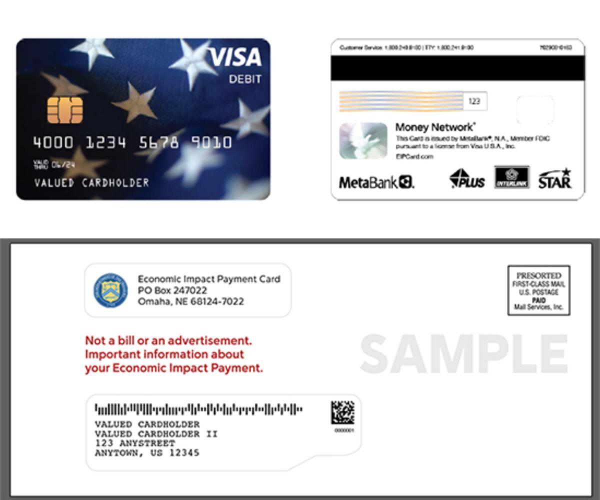 Atención: así son las tarjetas y los sobres en los que podría llegar tu pago de estímulo.