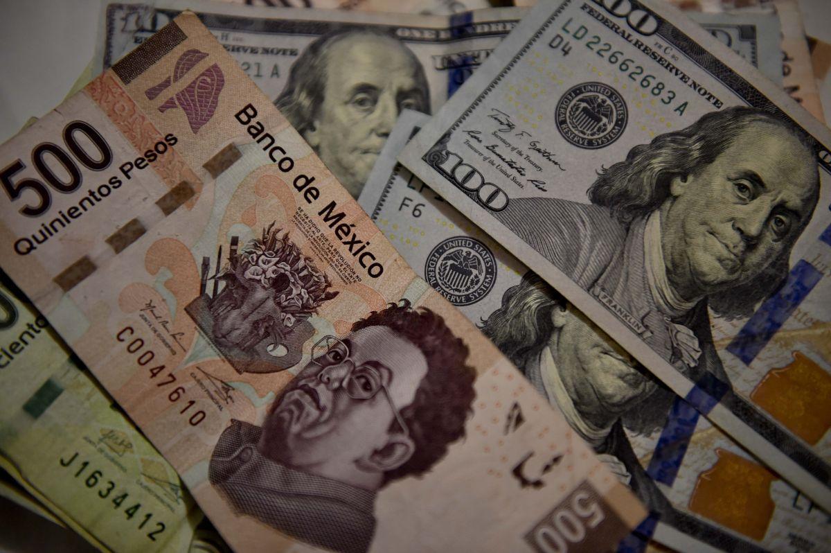 Precio del dólar ante el peso mexicano