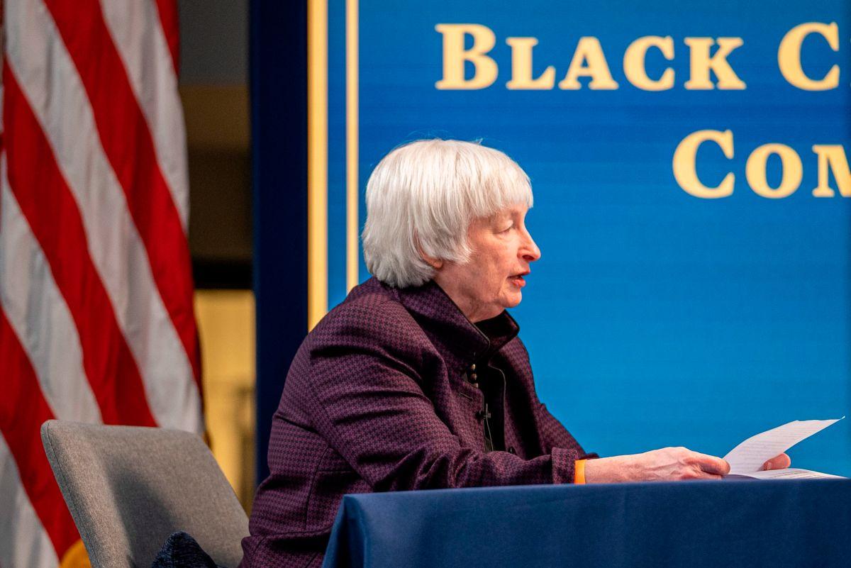 Janet Yellen, secretaria del Tesoro de la administración Biden.
