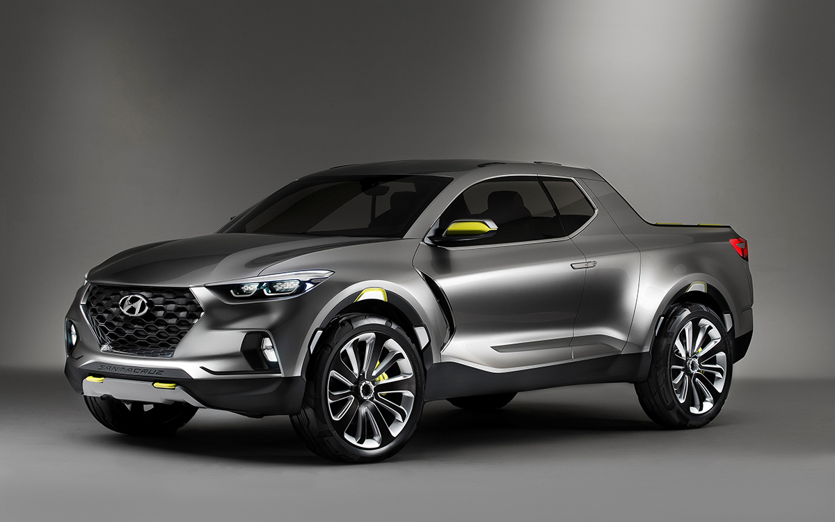 Hyundai Santa Cruz Crossover Truck Concept.