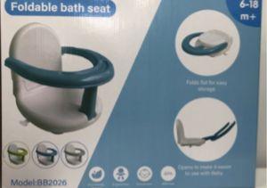 Amazon retira de la venta asientos plegables para bebé por riesgo de ahogamiento en la bañera
