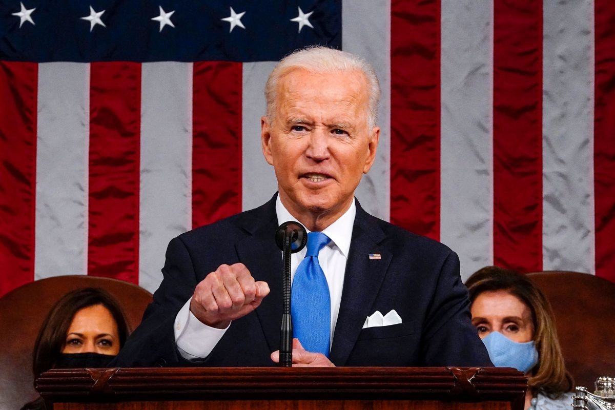 El presidente Joe Biden asistió al Congreso para presentar formalmente su Plan de Familias Estadounidenses.