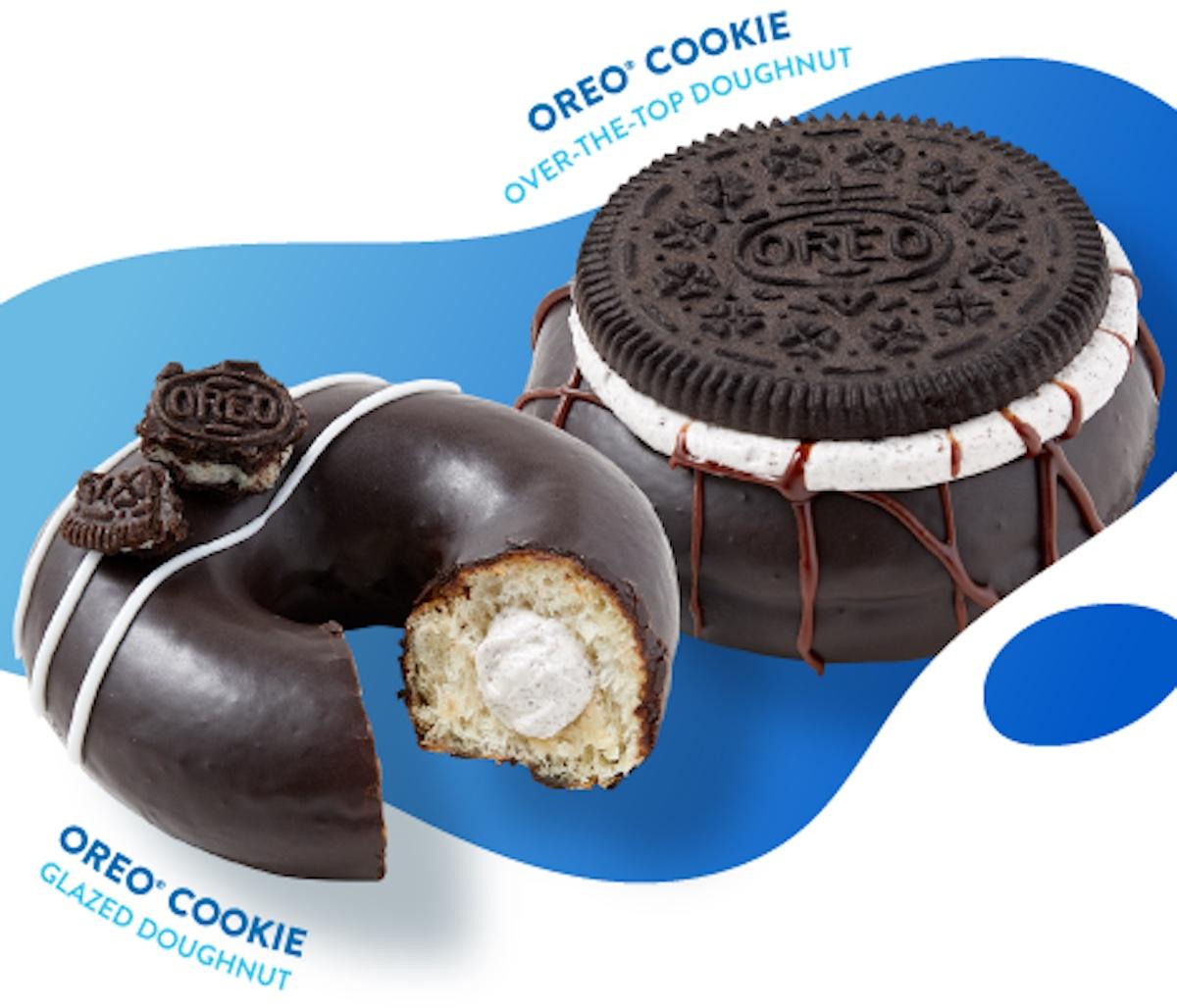 Krispy Kreme tendrá dos nuevas donas Oreo por tiempo limitado.