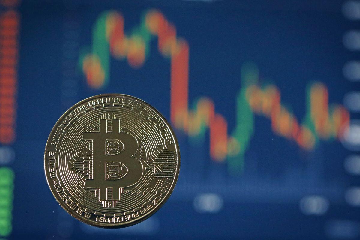 """La cotización del Bitcoin en las últimas semanas es toda una """"montaña rusa""""."""