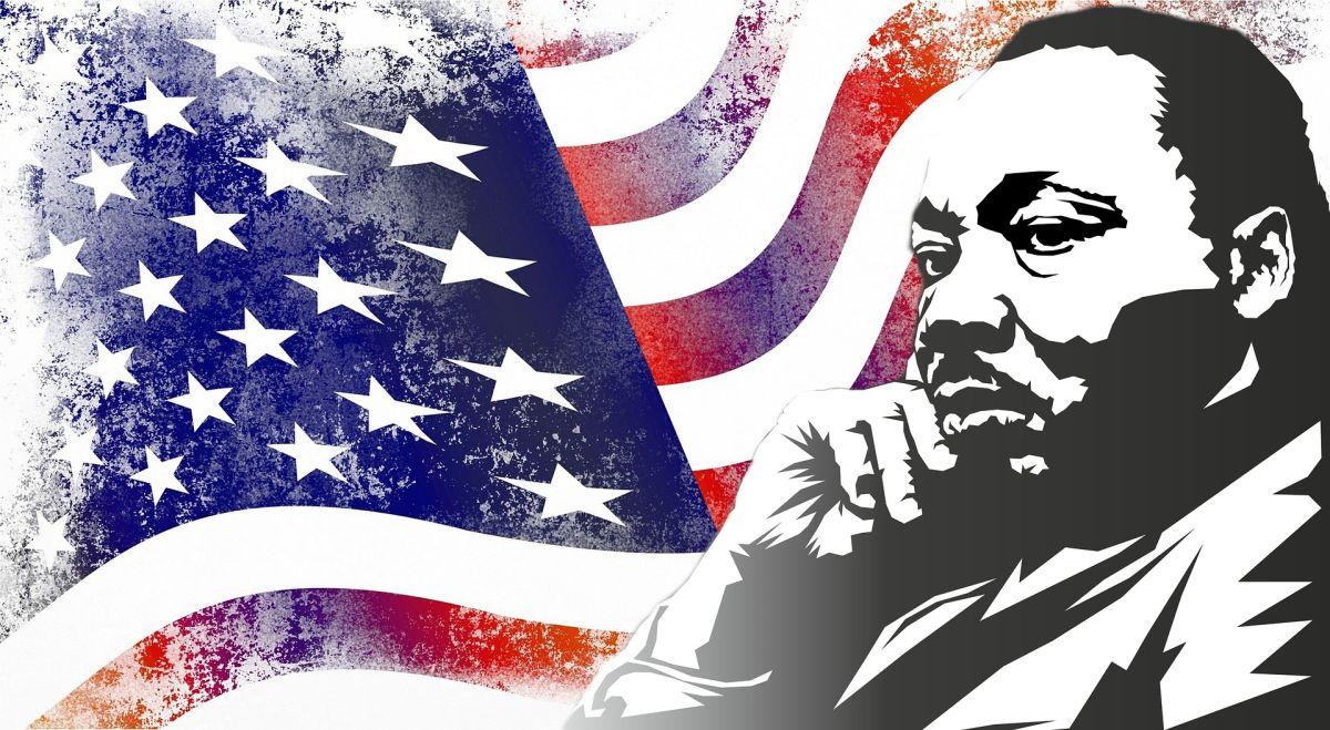 Los preceptos de Martin Luther King estuvieron tan vigentes recientemente tras la muerte de George Floyd, que muchos estadounidenses se suman a la lucha racial.