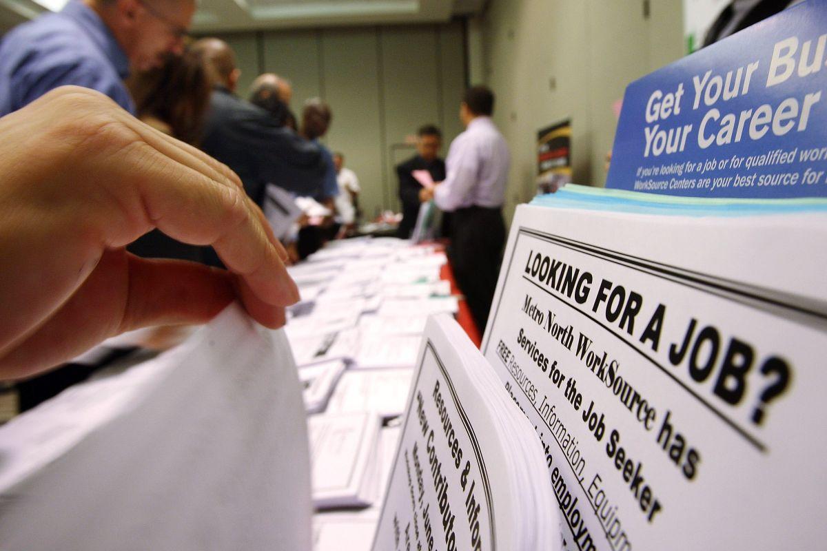 Buena señal. Las solicitudes iniciales por desempleo se mantienen a la baja.