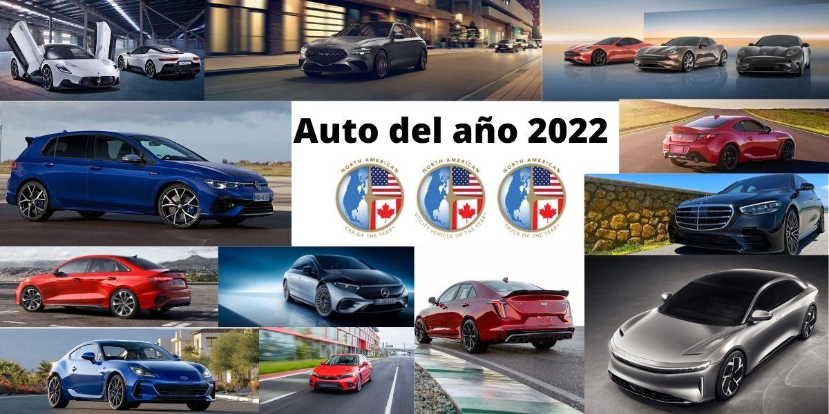 Los candidatos al Premio NACTOY al Auto del Año 2022. Foto: Cortesía Javier Mota.