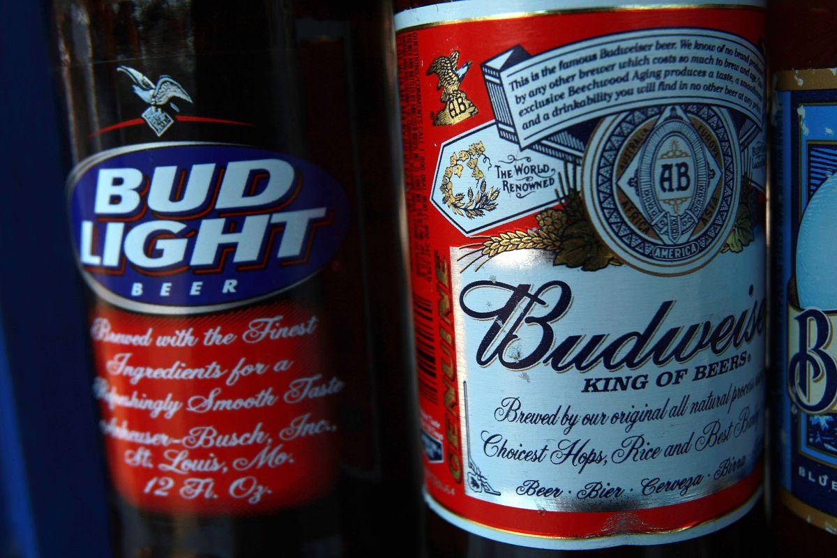 Budweiser, la marca insignia de Anheuser-Busch.