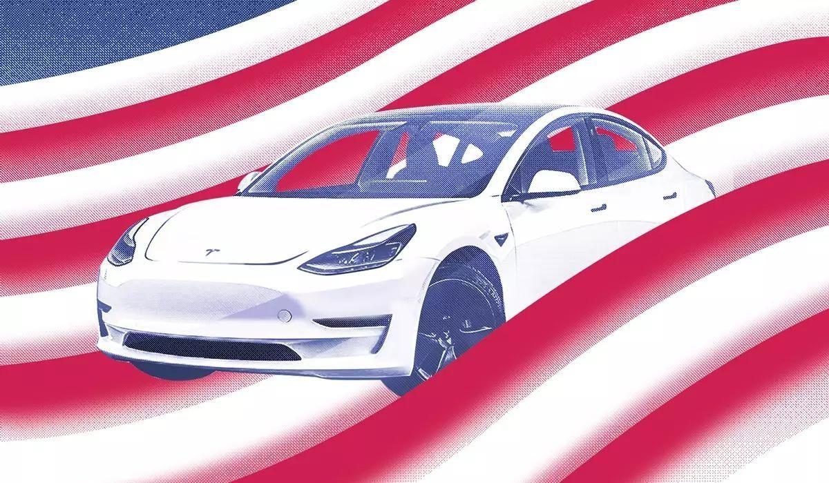 """El Tesla Model 3 ocupó el No. 1 en la lista del """"Auto Más Americano""""."""