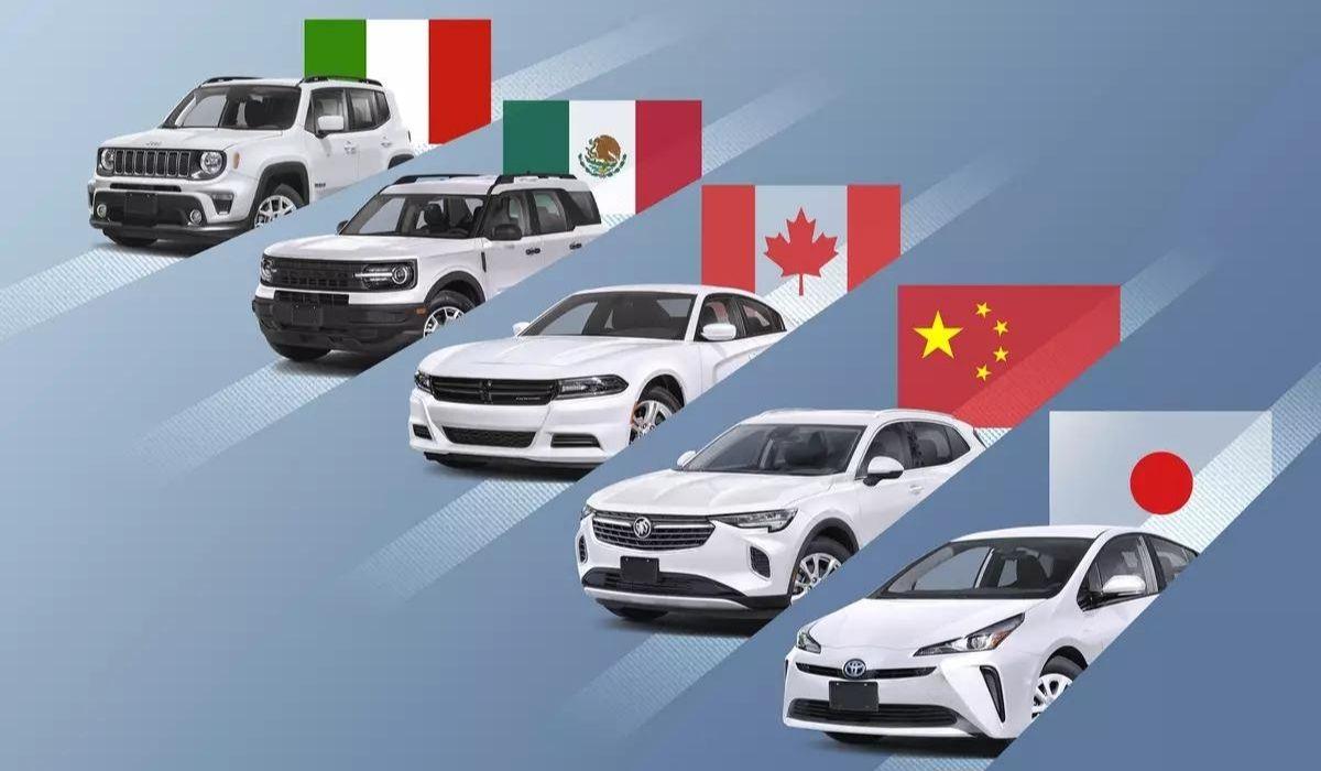 Autos americanos fabricados en el mundo.