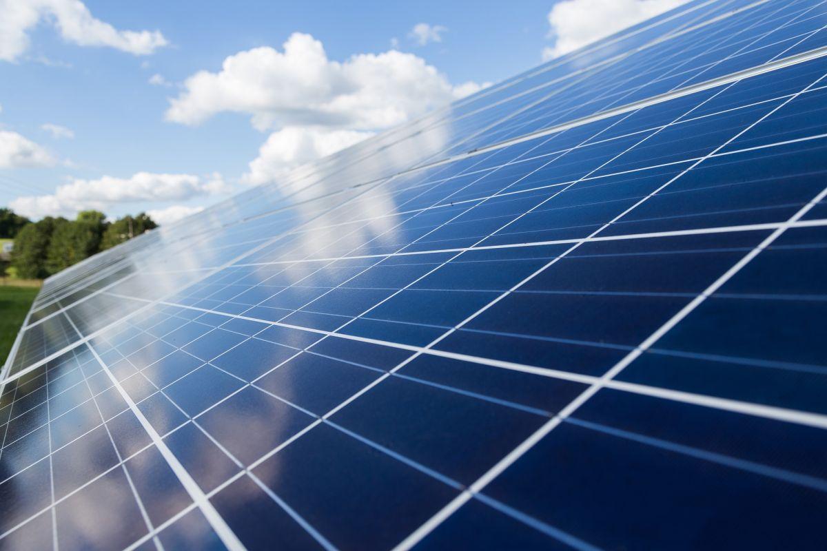 Energía solar.