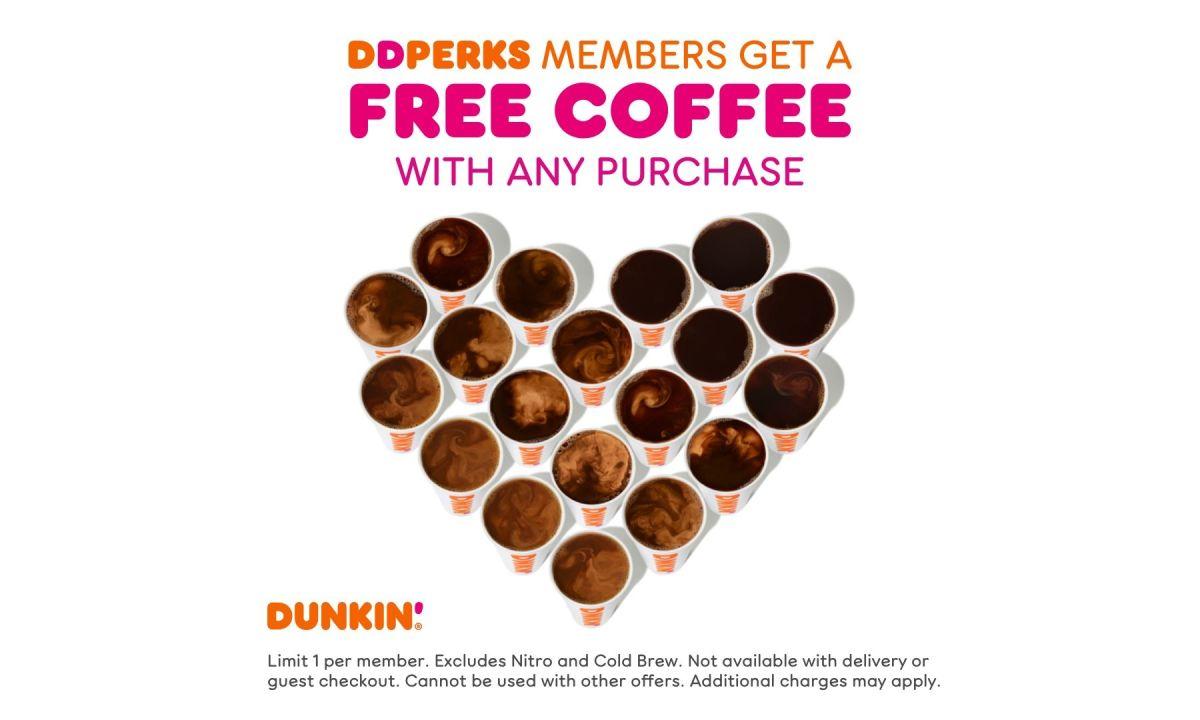 Dunkin' Donuts tiene millones de cafés gratis para este miércoles 29 de septiembre.