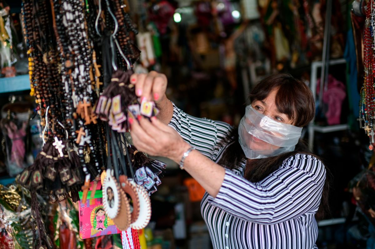 Los empresarios latinos en Estados Unidos han sido severamente afectados por el coronavirus: han tenido que disminuir sus ingresos para mantener a flote a sus empleados. (Foto por PEDRO PARDO/AFP via Getty Images)