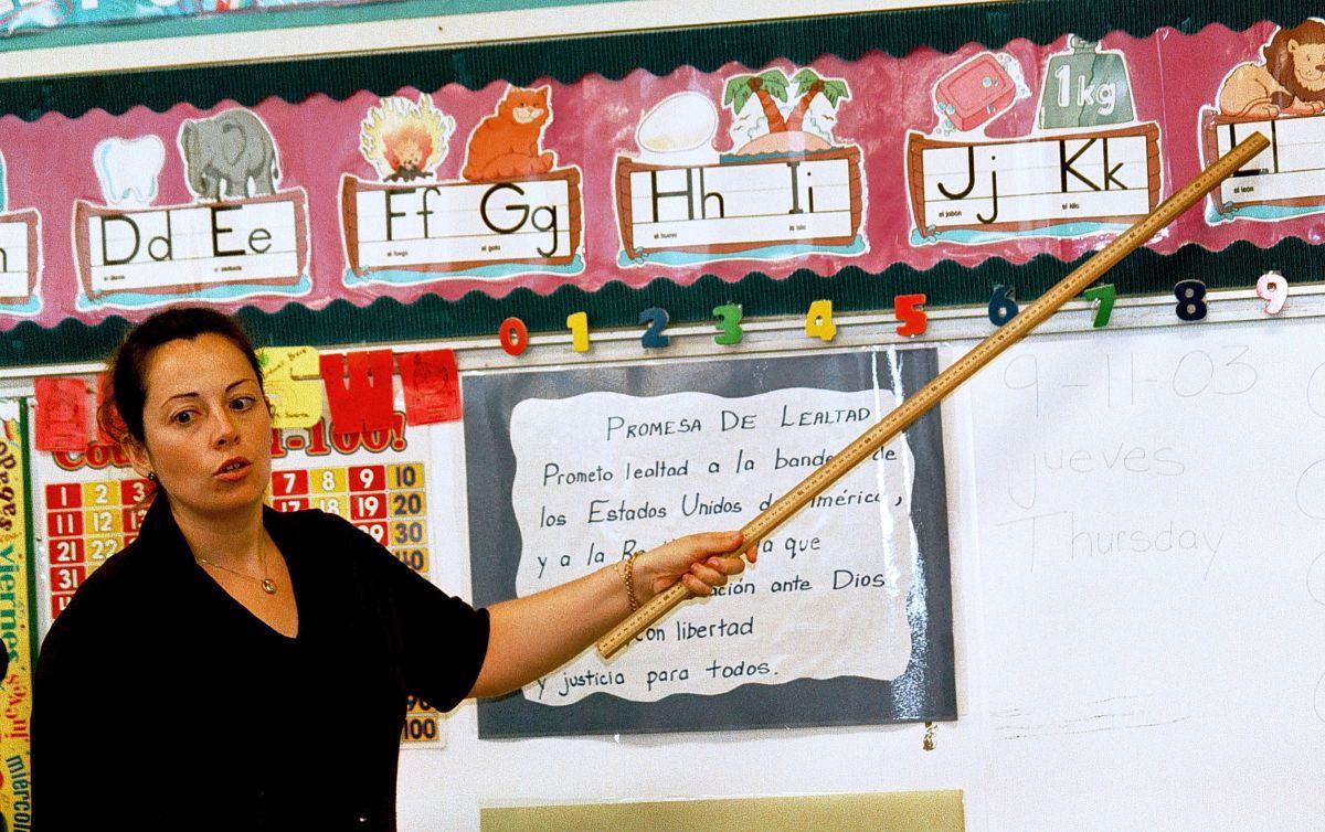 En Dallas están reclutando a profesores que hablen español. Puedes aplicar si vives en México y Estados Unidos. (Foto por Mario Villafuerte/Getty Images)